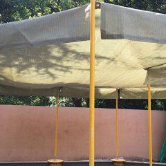 砂場のシェード(幼稚園)